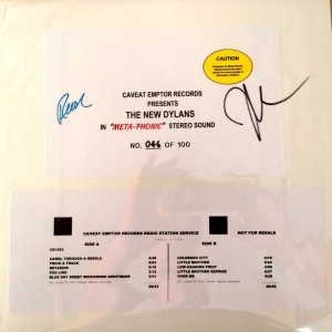 META VINYL signed & numbered